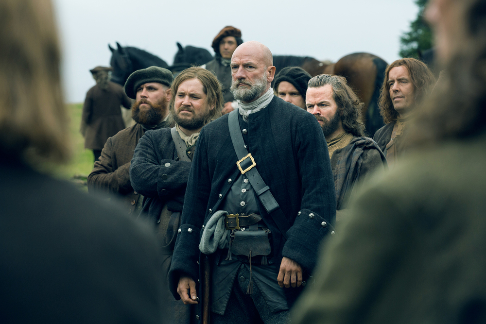 Rupert, Dougal, and Angus in Outlander | © Starz