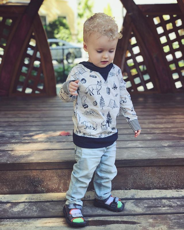 This little guy turns 22 months today! #aereondavidstaats