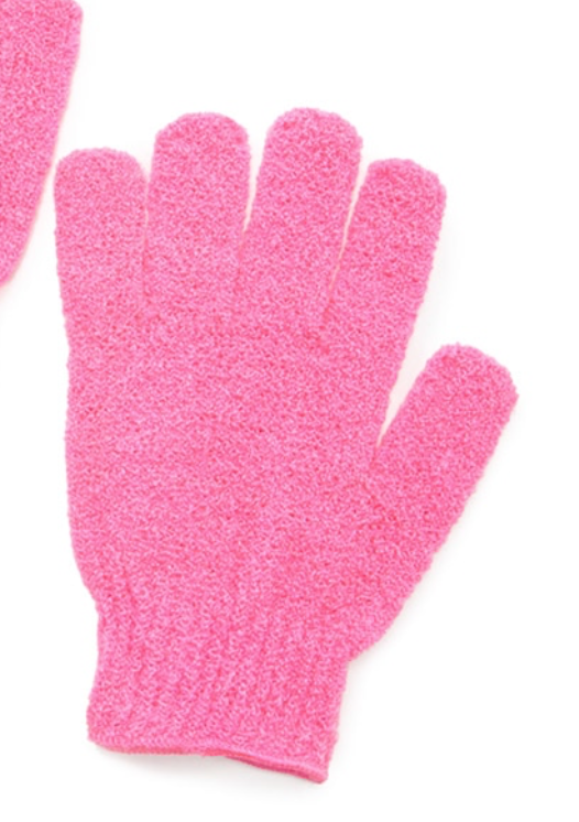 Exfoliating gloves , essential for any hot shower - I usually use these gloves 2/3 times a week. My previous pair (which I still own) has lasted me over a year!