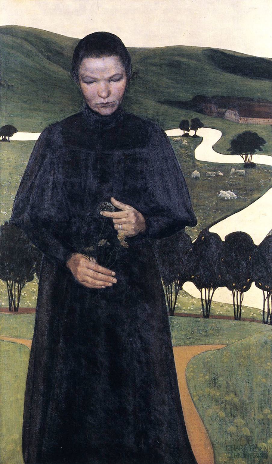 The Blind Girl, Ejnar Nielsen, 1896