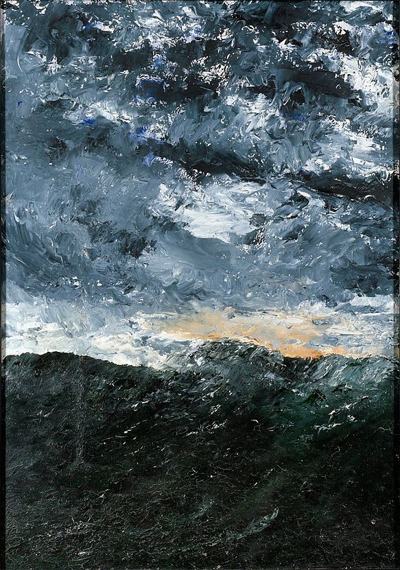 Vague VIII, August Strindberg, 1901