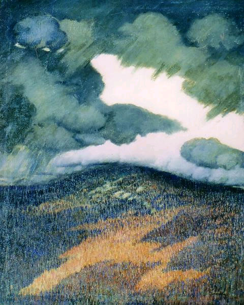 Storm Clouds, Maine, Marsden Hartley, 1906