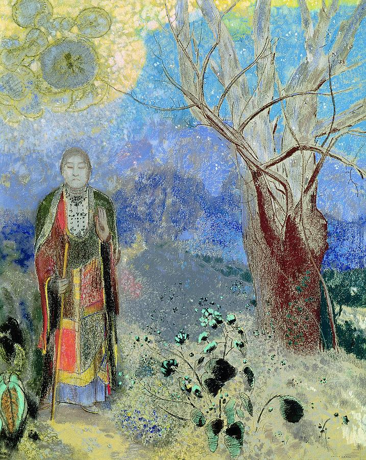 The Buddha, Odilon Redon, 1904