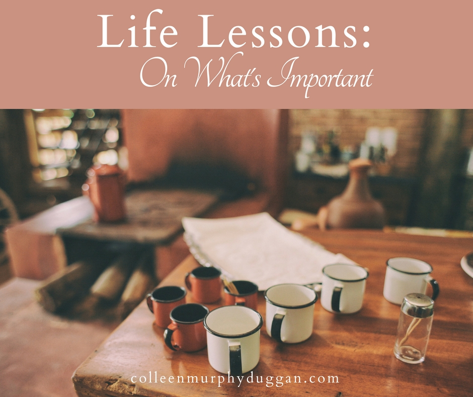 Life Lessons At the Grocery Store A Lesson on What's Important by Colleen Murphy Duggan