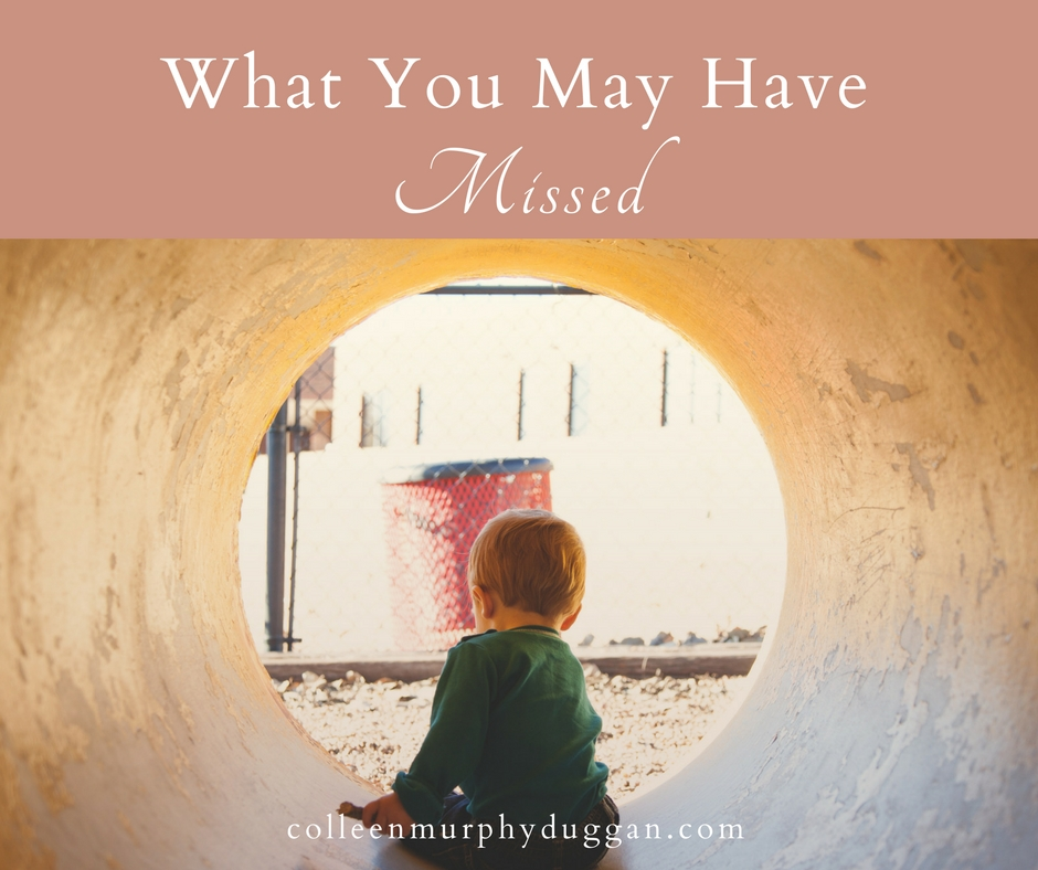 What You May Have Missed by Colleen Duggan A roundup of Catholic posts written by me as guest posts around the web for Integrated Catholic Life and Aleteia