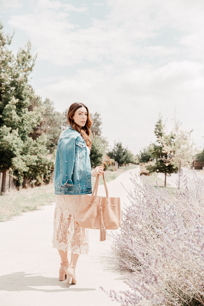 ABLE blush tote