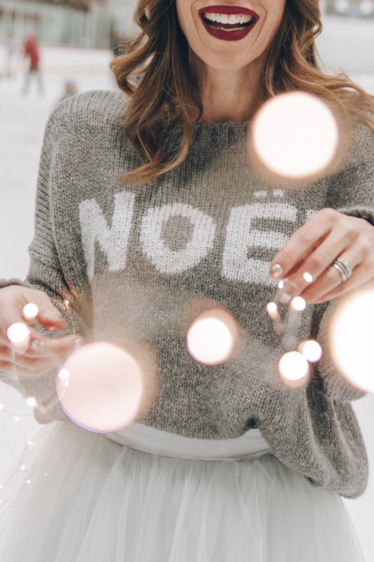 """Wooden Ships Knits """"Noel"""" sweater"""