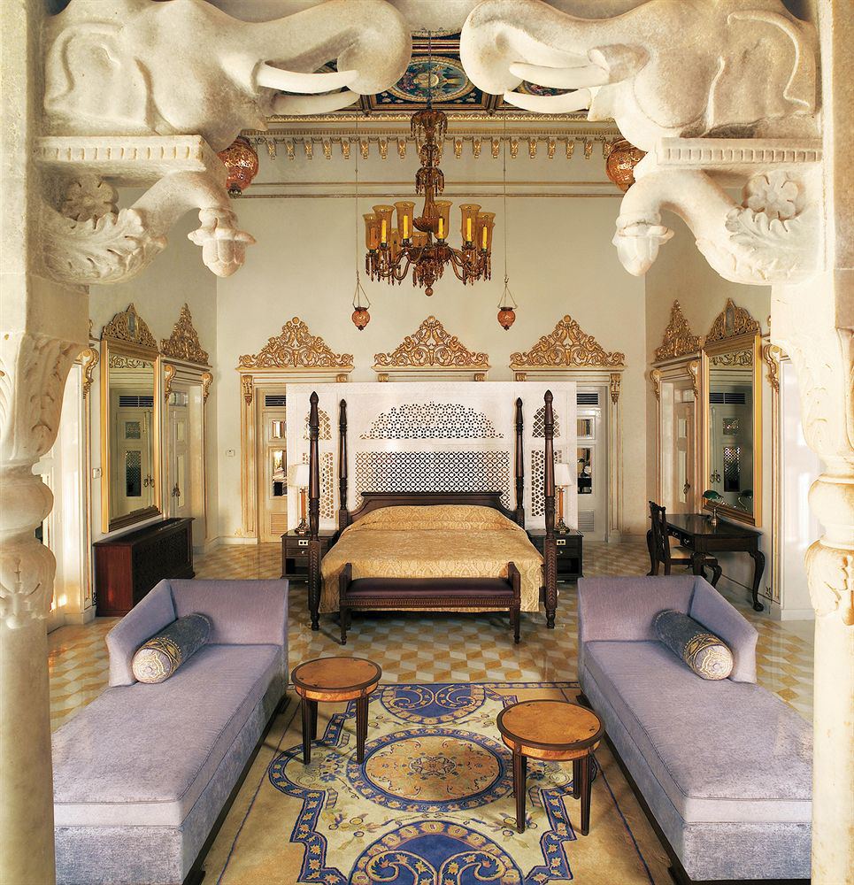 A hotel room fit for a queen, or maharani