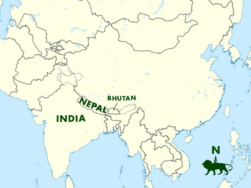India, Bhutan, Himalayas — A.K. Taylor International
