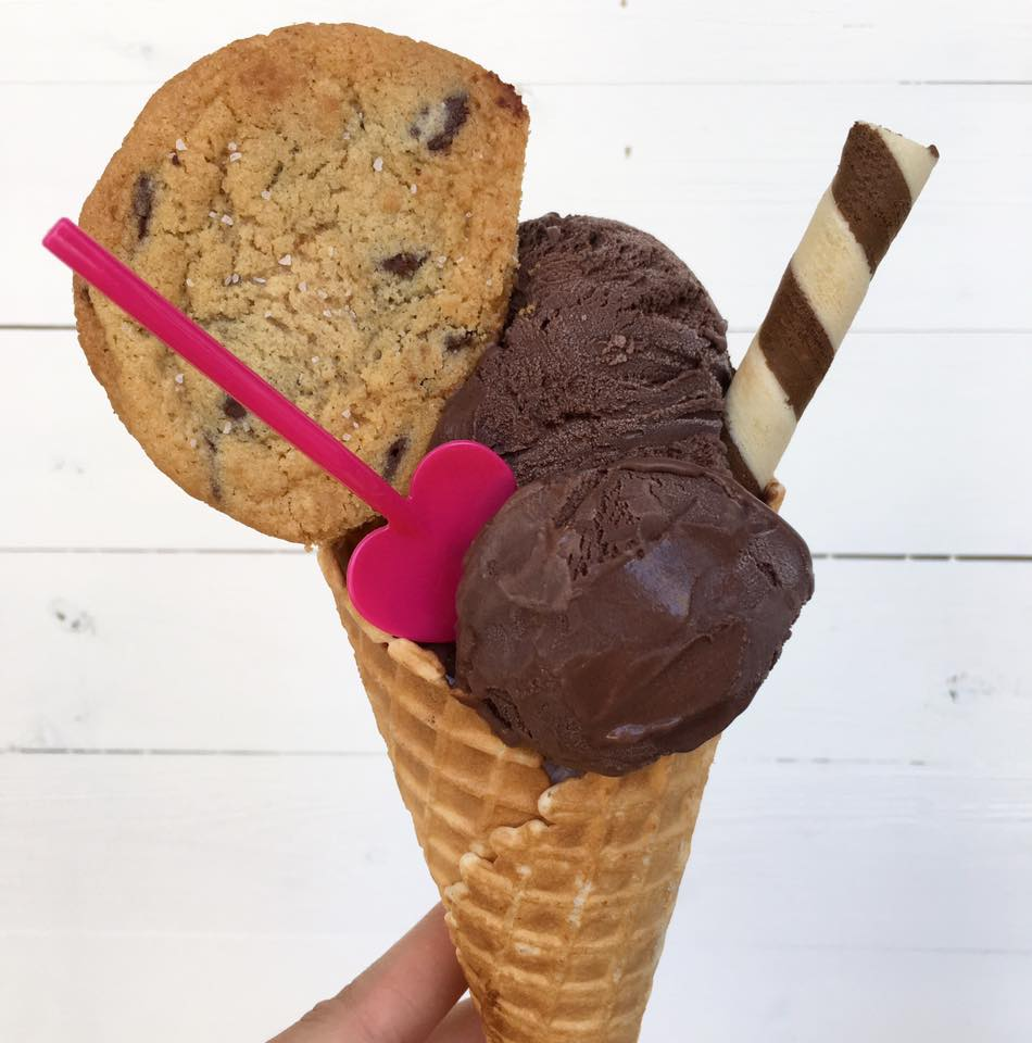Chocolate Chip Cookie and Chocolate Ice Cream cone.jpg