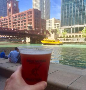 Chicago Now    Tiny Tapp Graces the Riverwalk