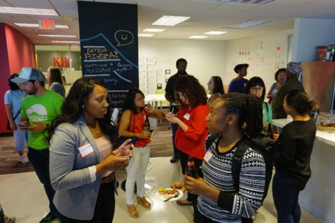 Women of Color in Tech @Ruby Receptionists