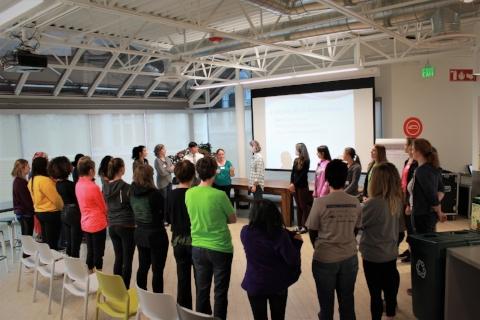 #Action WomenStrength Self-Defense Class @ Jama