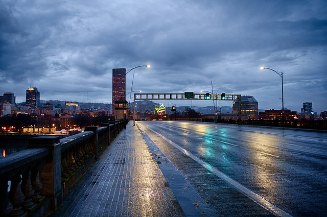 Original image of Portland skyline courtesy  el_ave