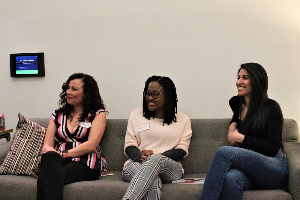 PDXWIT Creative Women in Tech @ R2C, 3/27/19, Panelists discuss