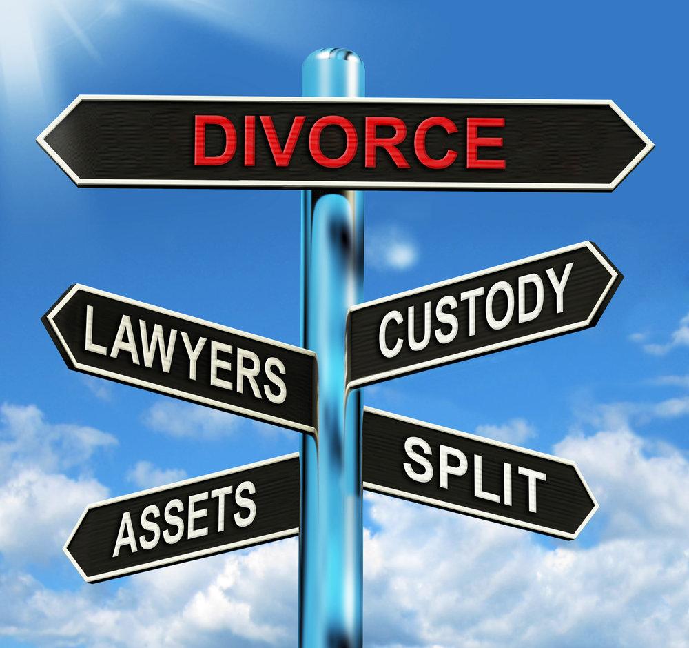 bigstock-Divorce-Signpost-Means-Custody-62910373.jpg