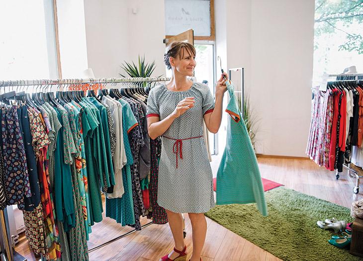 Kleid & Schuh boutique.