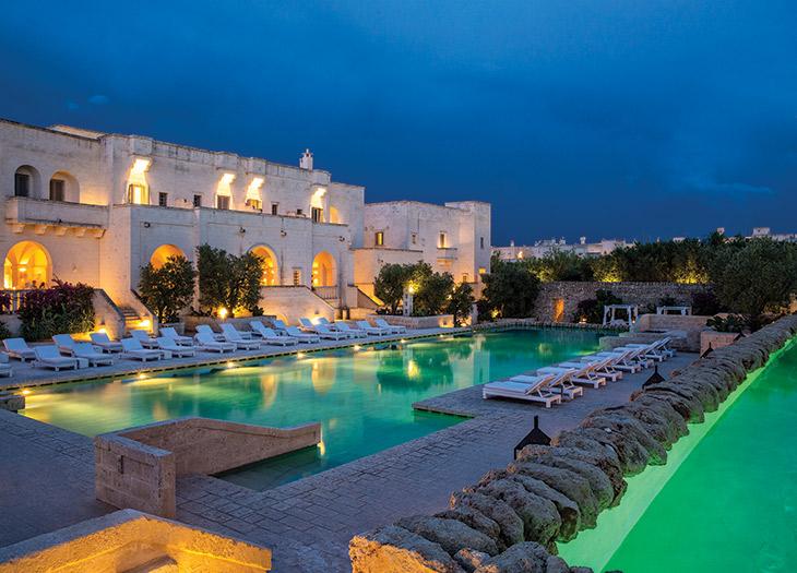 Hotel of the Year: Borgo Egnazia in Puglia, Italy.