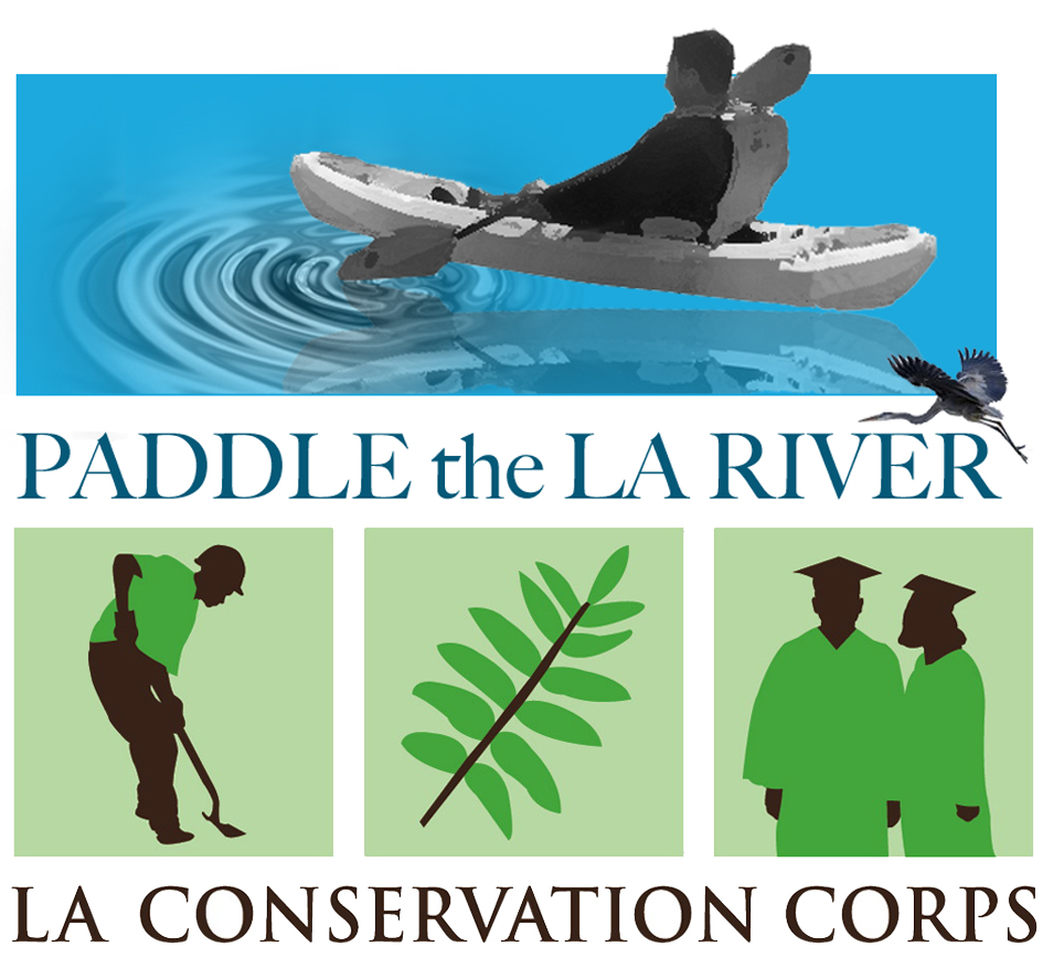Paddle The LA River - Los angeles river kayak map