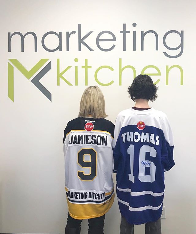 We are all one team 💚💛🏒 Marketing Kitchen has joined in Jersey Day today to honour the Humboldt Broncos.  #JerseyDay #HumboldtJerseyDay #HumboldtBroncos #HumboldtStrong #HumboldtBroncosStrong