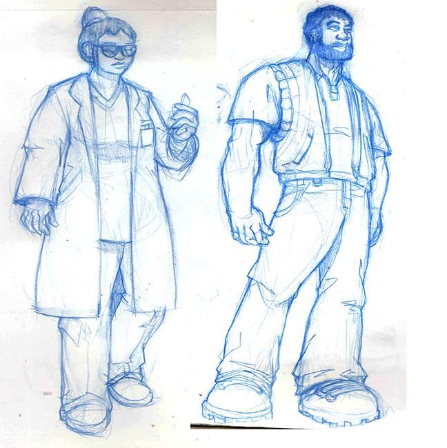 Dr. Ramirez and Nate