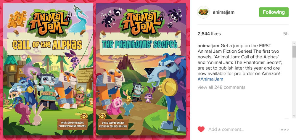 new animaljam paperbacks announcement.jpg