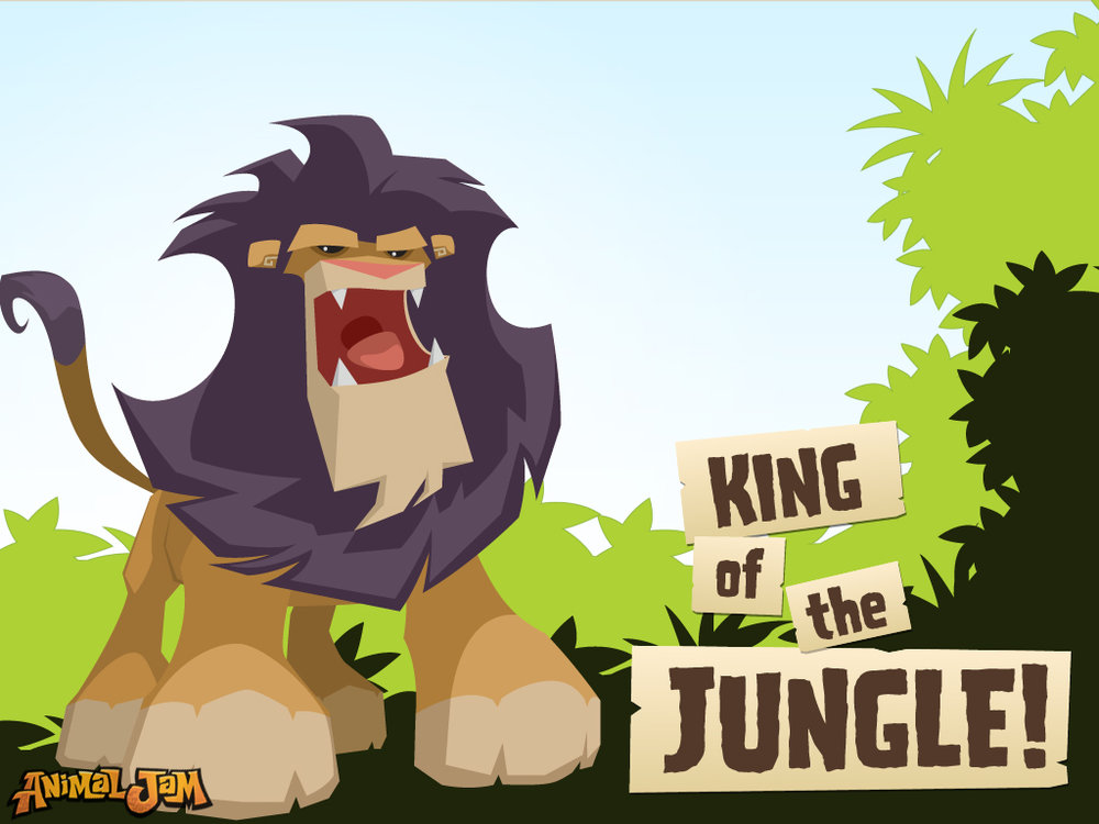 King of the Jungle Wallpaper