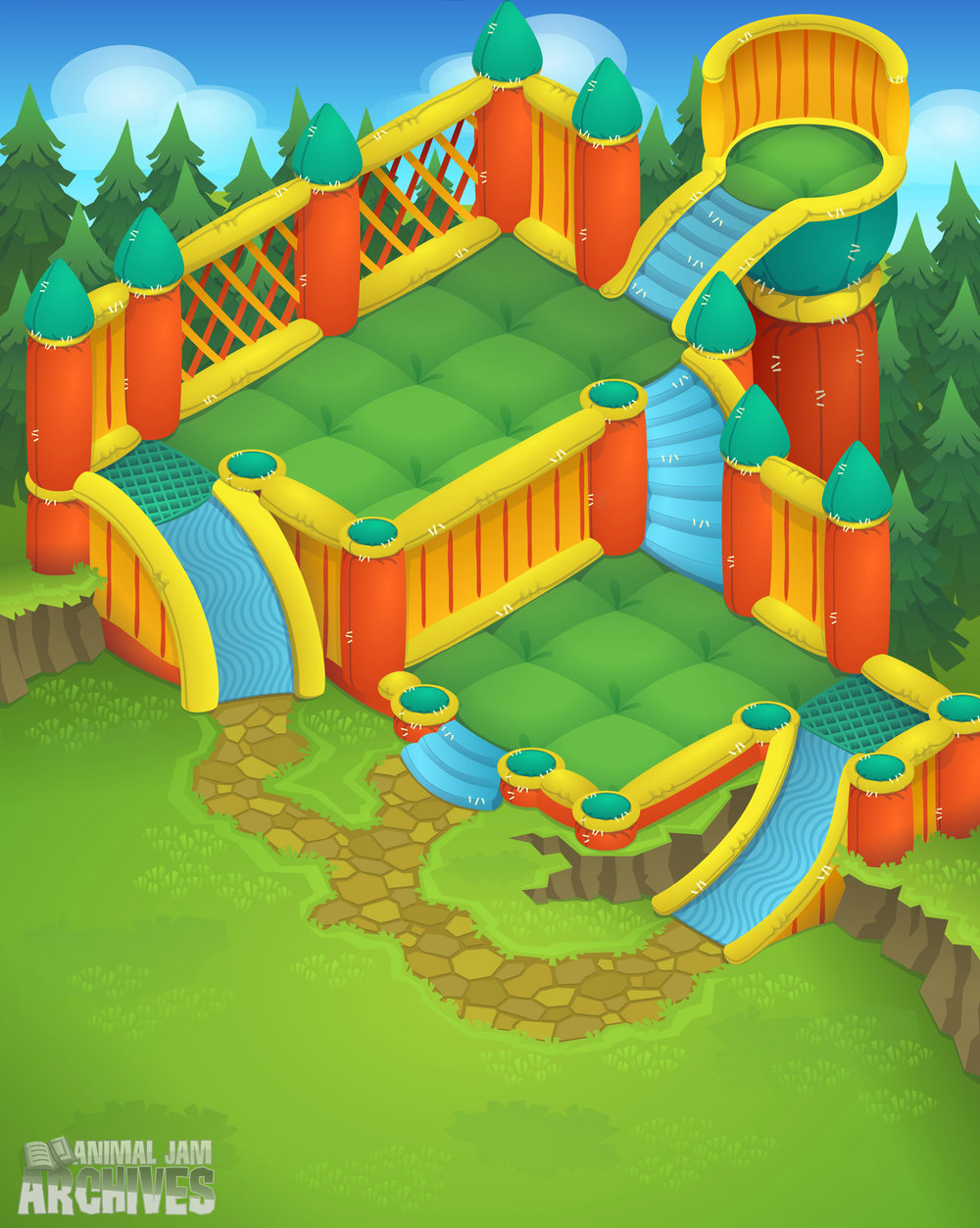 Bounce House Map