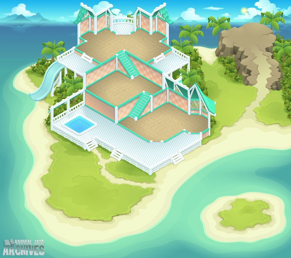Beach House Map