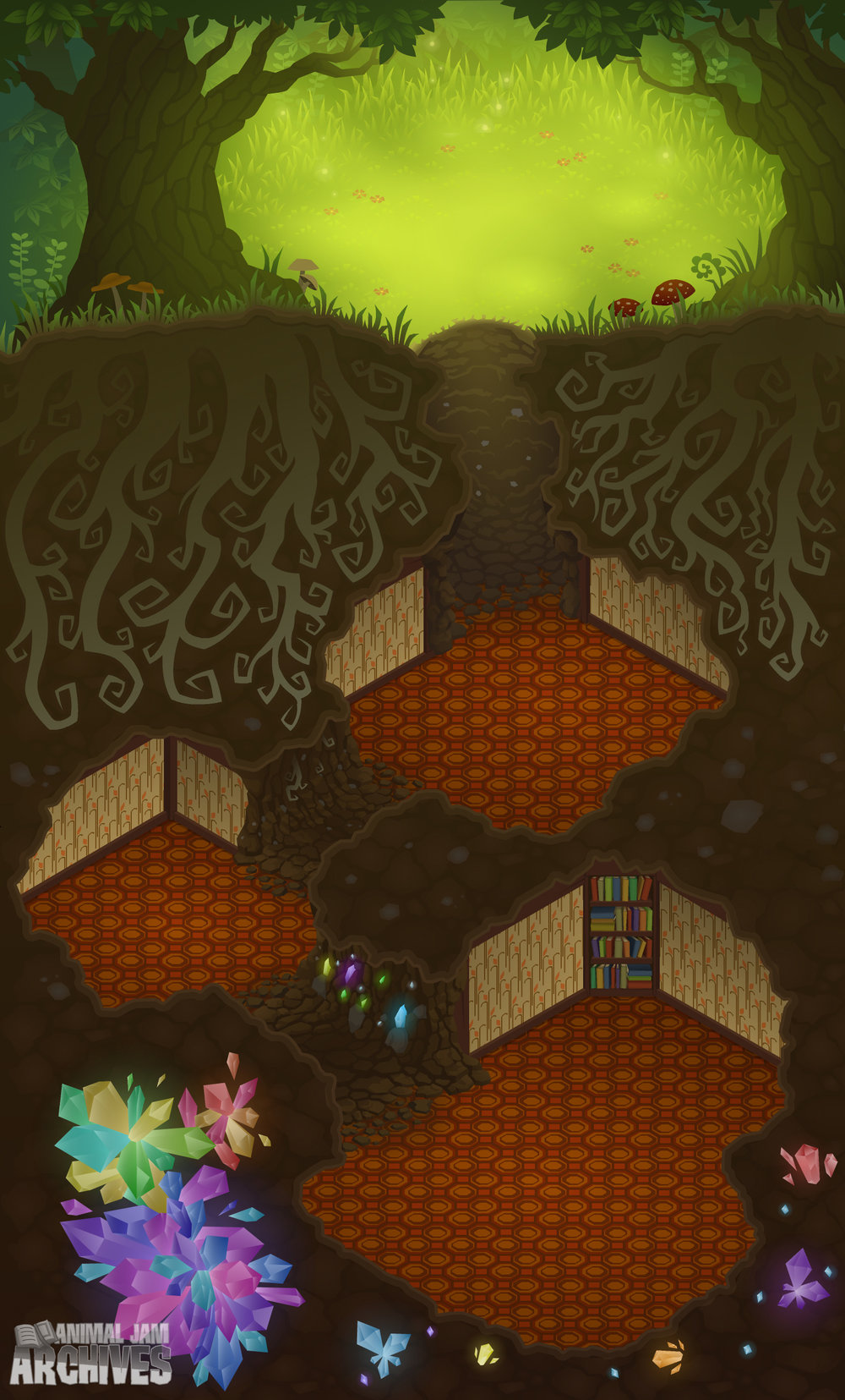 Enchanted Hollow Map