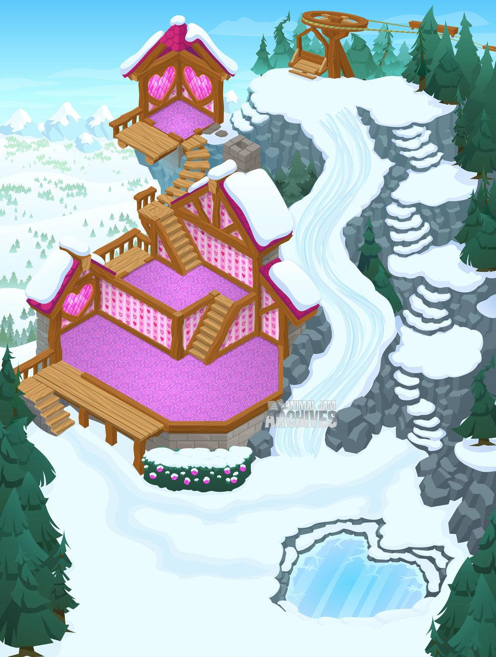 Friendship Cottage Map