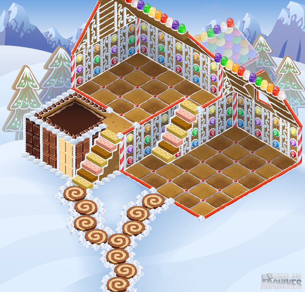 Gingerbread House Map