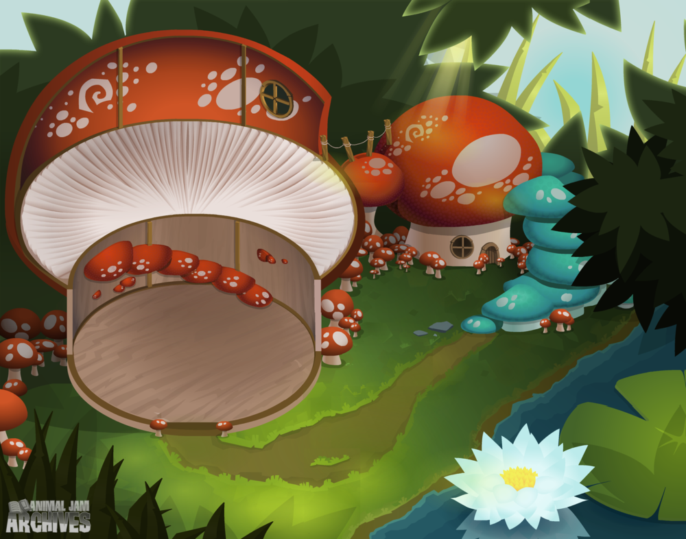 Mushroom Hut Map