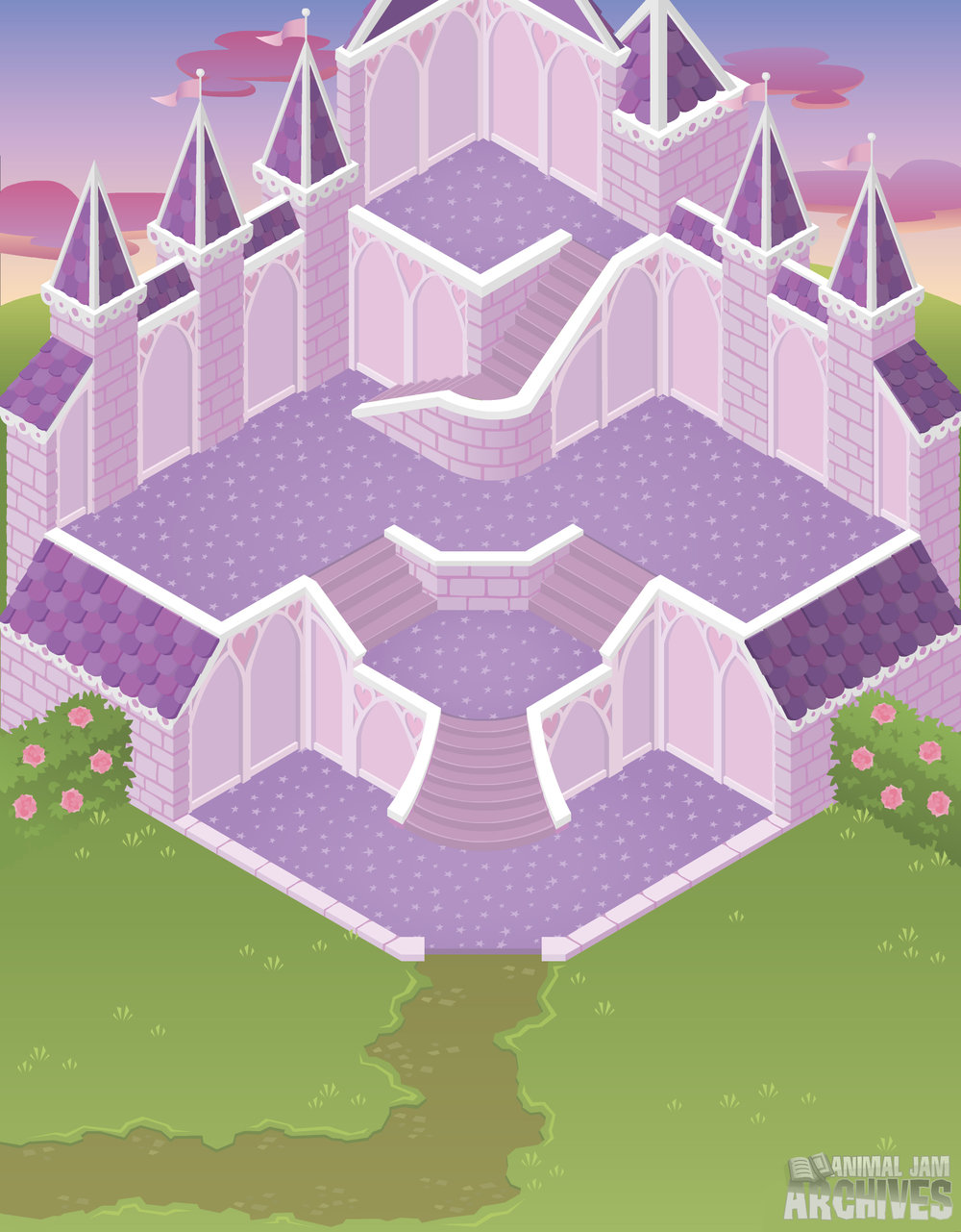 Princess Castle Map