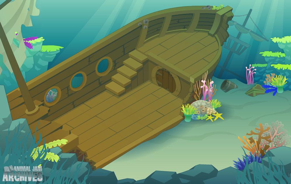 Sunken Ship Map