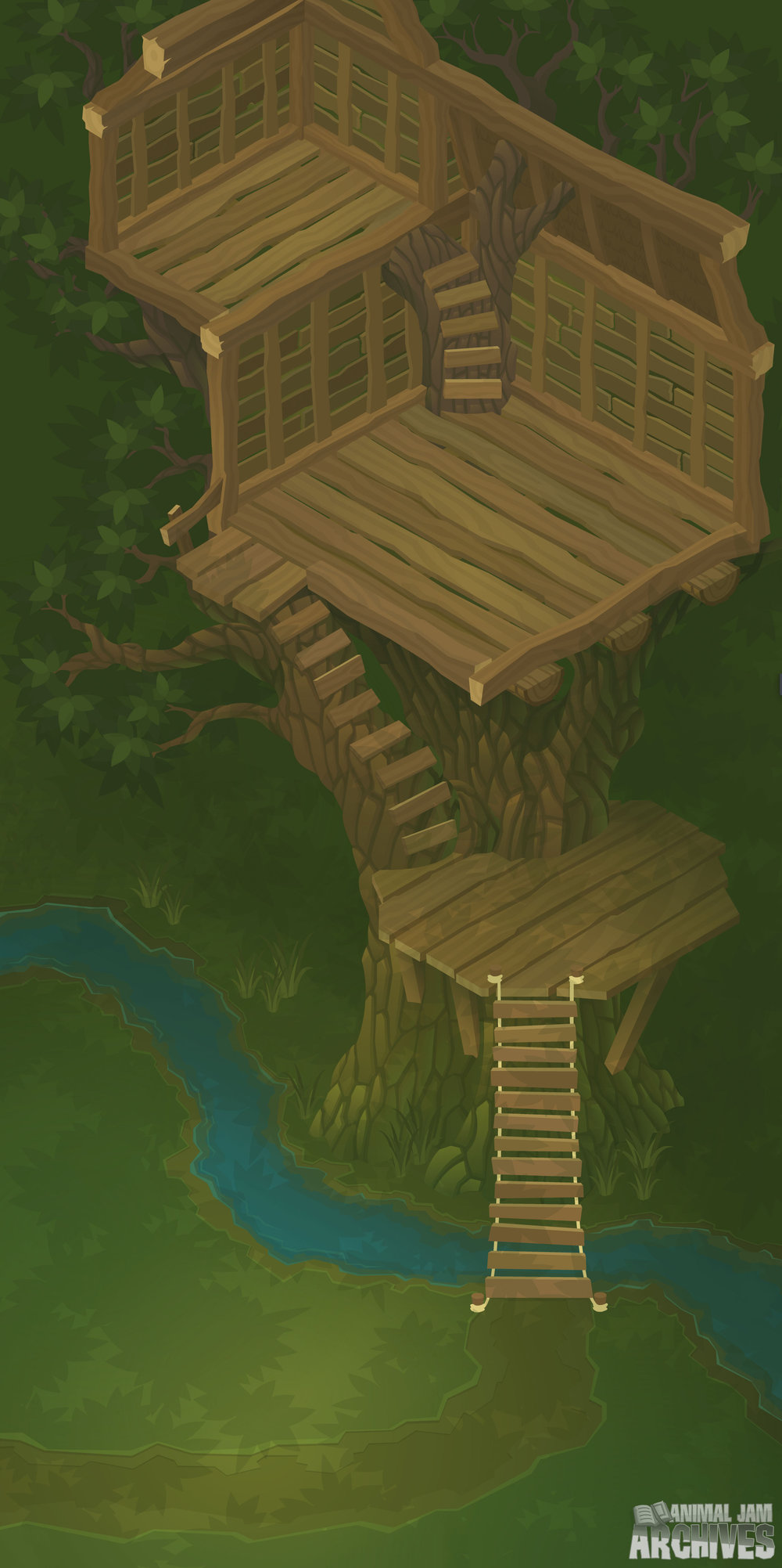Tree House Map