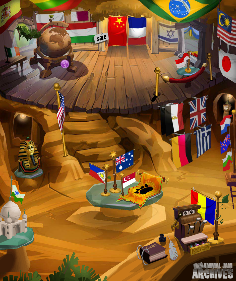 Flag Shop Map