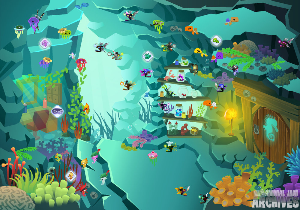 Flippers N' Fins Map