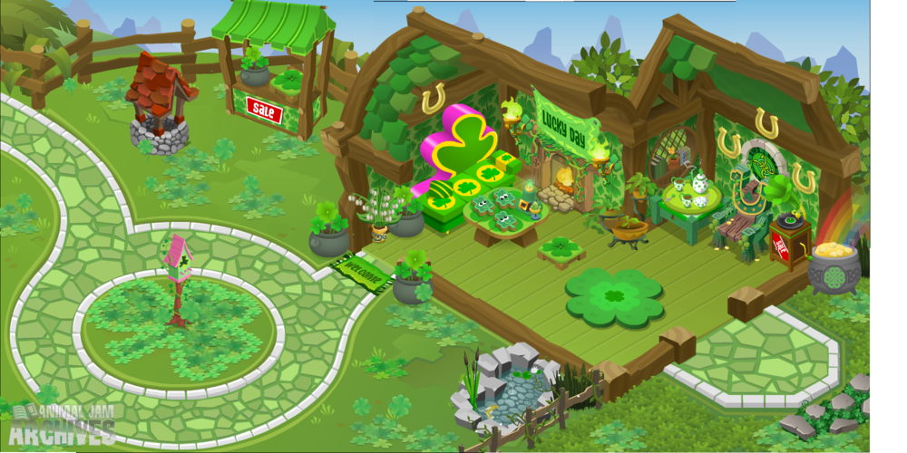 Lucky Party Map