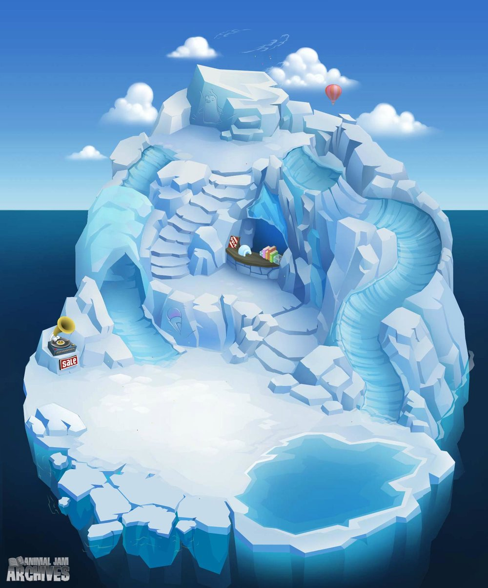 Penguins Only Party Map