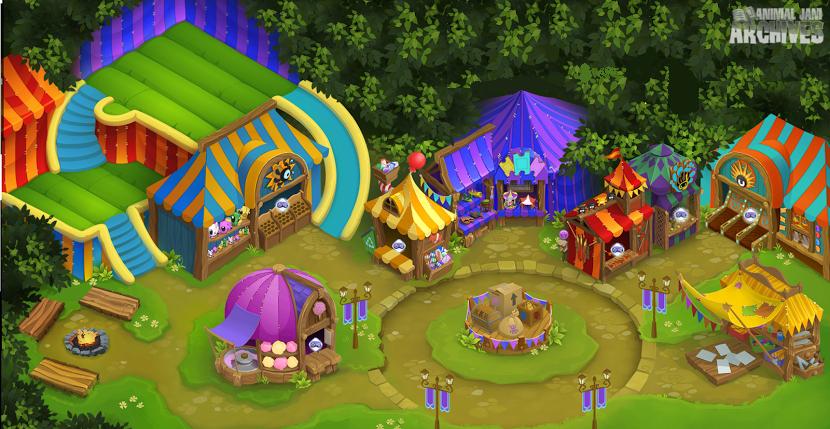 Summer Carnival Map