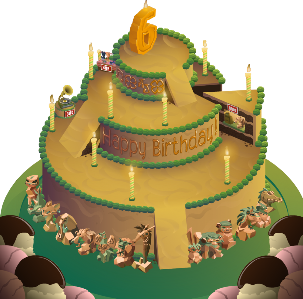 Animal Jam Birthday Party Map