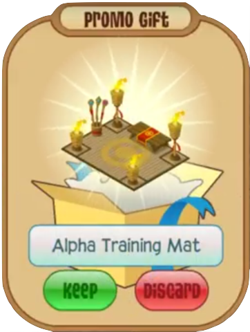 120 = Alpha Training Mat