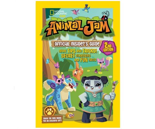 Image of: Jamaa As Liza Is My Favourite Alpha Absolutely Adore The Front Cover Artwork Very Cute Keep An Eye Out When You Next Pop Into Your Local Bookstores Or Click Custom Gifts Maker Animal Jam Official Insiders Guide 2nd Edition Animal Jam Archives