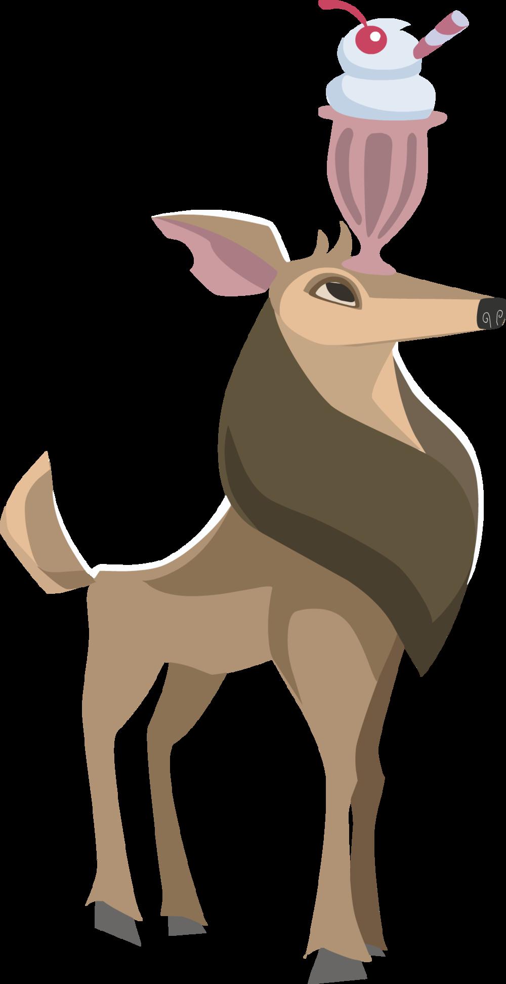 Image of: Png Deerpng Animal Jam Archives Deer Animal Jam Archives