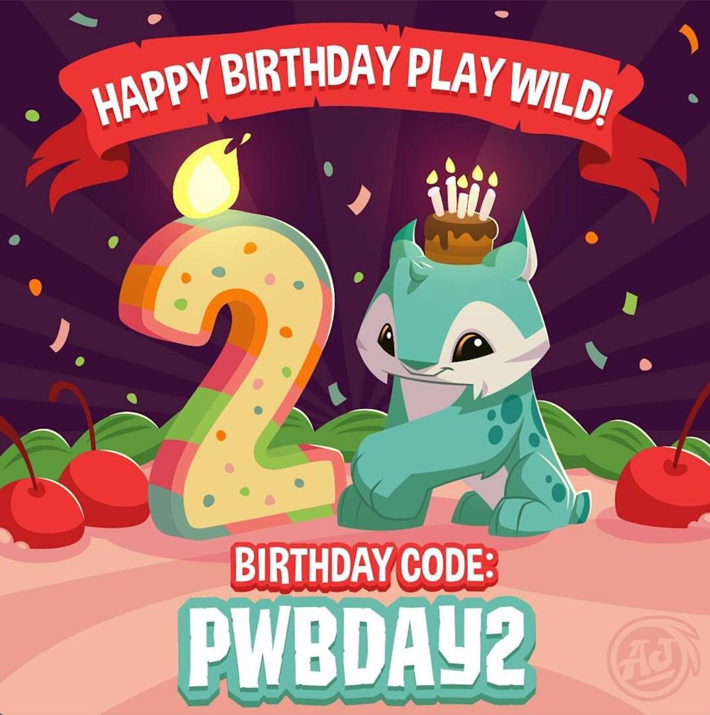 Birthday Code: PWBDAY2