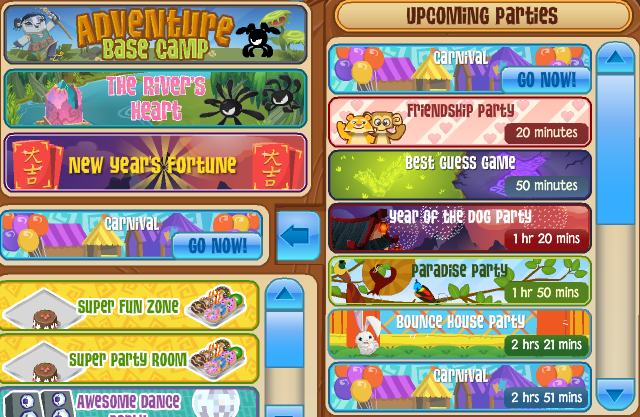 carnival returns for a limited time animal jam archives
