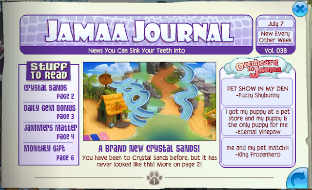 As usual, all Jamaa Journal images come from  here