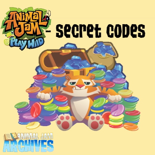 Play Wild - All Codes Guide [Dec  2018] — Animal Jam Archives