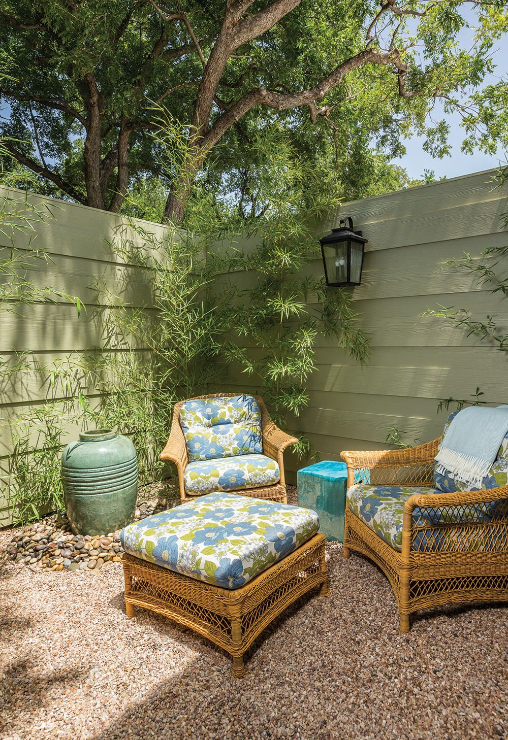The little private patio off of my room was so quaint and relaxing.